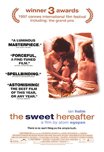 POster for The Sweet Hereafter scanned from an origin in the Northernstars Collection