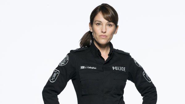 Amy Jo Johnson, actress,