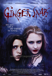 ;Ginger Snaps, movie poster;