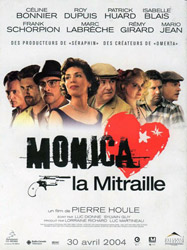 ;Monica La Mitraille, movie poster;