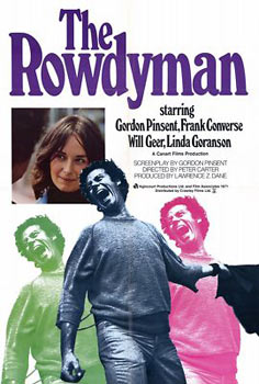 Poster for the Gordon Pinsent film, Rowdyman