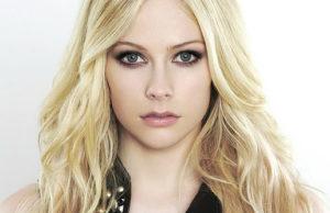 Avril Lavigne, singer, actress,