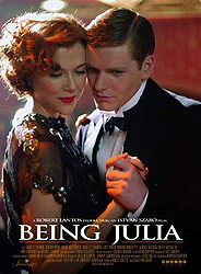 ;Being Julia, movie poster;