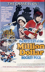 ;The Mystery of the Million Dollar Hockey Puck, poster;