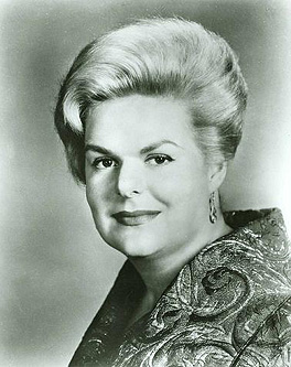 Maureen Forrester, actress, singer,