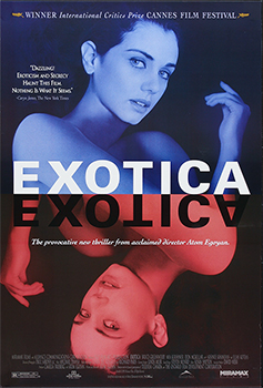This poster for Exotica was scanned from an original in the Northernstars Collection