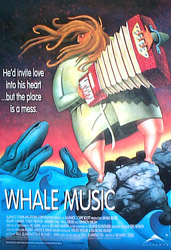 Whale Music, movie poster