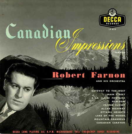 ;Robert Farnon, album cover;