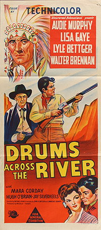 Drums Across the River, movie poster