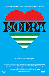 ;Modra, movie poster;