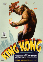 King Kong, movie, poster,