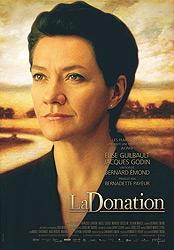 La Donation, movie poster