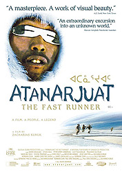 Atanarjuat, The Fast Runner, movie, poster,