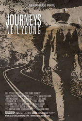 Poster for the movie Neil Young's Journeys