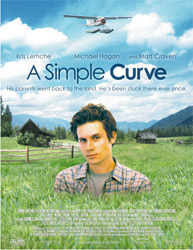 Poster for the film A Simple Curve