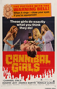 Cannibal Girls, movie, poster,