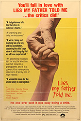 This US poster for Lies My Father Told Me was scanned from an original in the Northernstars Collection.
