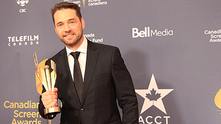 Jason Priestley Honoured by ACTRA, photo,