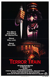 This poster for the movie Terror Train was scanned from an original in the Northernstars Collection.