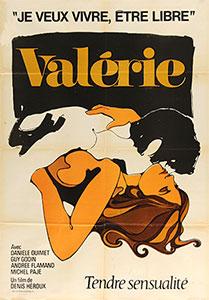 Valérie, movie poster,