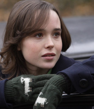 Ellen Page in a production still from the 2008 movie, Smart People  Ellen Page