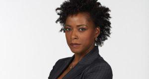 Karen LeBlanc, actress,