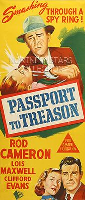 Passport to Treason, movie, poster,