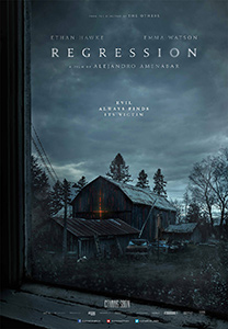 Poster for Regression courtesy of Elevation Pictures.