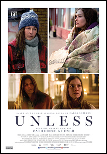 Unless, movie, poster,