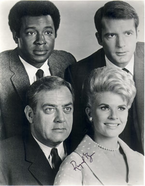 ;Raymond Burr and Perry Mason cast, a Northernstars Collection photo;