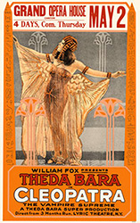 Cleopatra, movie poster