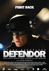 Poster for the 2009 movie, Defendor