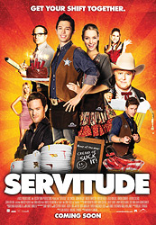 Poster for the 2011 movie Servitude,
