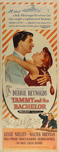 This poster for the movie Tammy and the Bachelor was scanned from an original in The Northernstars Collection