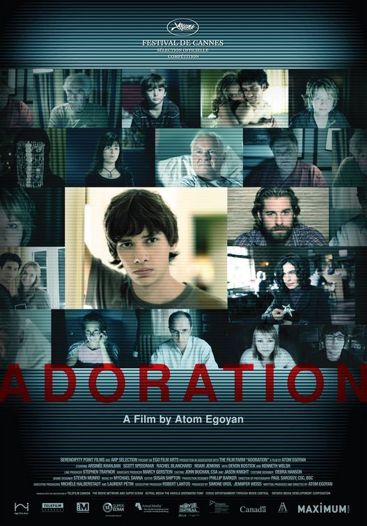 Adoration, 2007 movie, poster,
