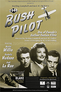 Bush Pilot, movie poster reproduction