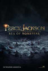 Percy Jackson Sea of Monsters, movie poster