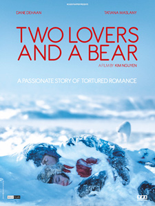 Two Lovers and a Bear, movie poster