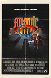 Poster for Atlantic City scanned from an original in the Northernstars Collection