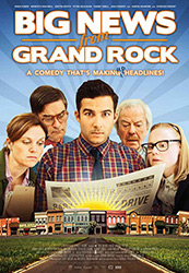 Poster for the 2014 movie, Big News from Grand Rock