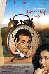;Groundhog Day, movie poster;