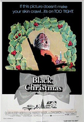 Poster for the 1974 movie, Black Christmas