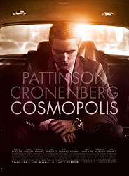 Poster for the 2012 movie, Cosmopolis