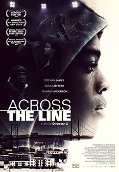 Across the Line poster courtesy of A71 Entertainment.