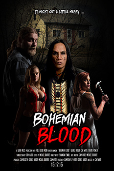 Bohemian Blood, movie poster