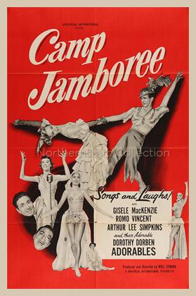 Camp Jamboree, movie poster
