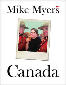 Mike Myers Canada, book, cover,