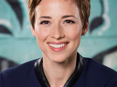 Karine Vanasse, actress,