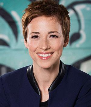 Karine Vanasse, actress,