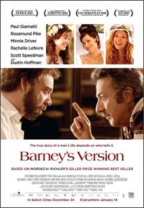 Barney's Version, movie, film, poster,